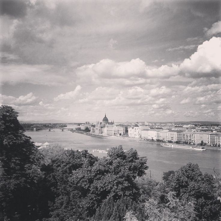 View of the Parlament from Castle District, Budapest