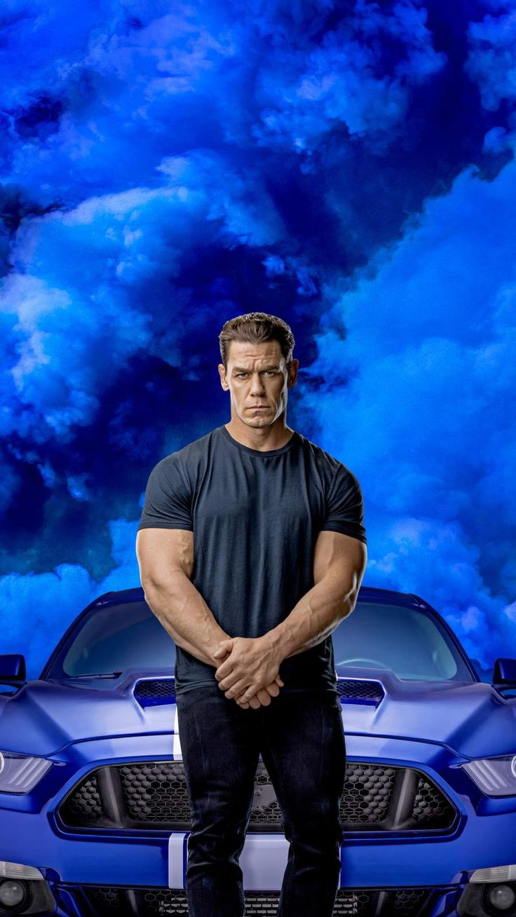 John Cena in Fast and Furious 9 iPhone Wallpaper in 2020