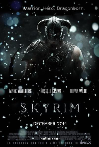 The Skyrim Movie (2014). Myi son should be happy about this.