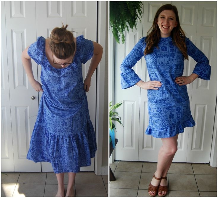 Refashions are one of my favorite things to make. I found this ginormous Hawaiian muumuu at the GW Clearance Center for pennies on the dollar. To make a refashion happen, it helps to pick out something with a ton of fabric. It's always easy to cut away fabric, but much harder to add fabric to …