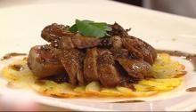 Haute Cuisine - Video mit Rezept aus Lanz kocht! - Rezept: Crépinette von Taube und Wachtel mit Trüffeljus und Petersilie - 321kochen.tv