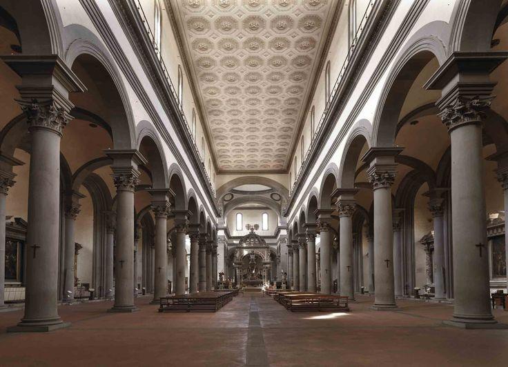 Filippo Brunelleschi - Chiesa di Santo Spirito, 1444 Firenze