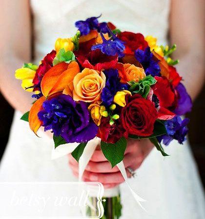 bukiet ślubny kolorowy śliczny - Szukaj w Google