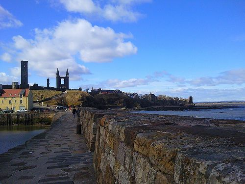 St Andrews in Fiife, Scotland one of our day trip suggestions from Edinburgh| Europe a la Carte Travel Blog
