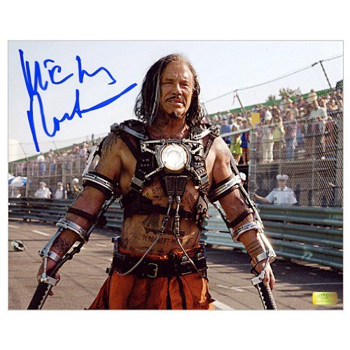 Mickey Rourke Autographed 8x10 Iron Man 2 Whiplash Photo @ niftywarehouse.com #NiftyWarehouse #IronMan #Iron-man #Marvel #Avengers #TheAvengers #ComicBooks #Movies