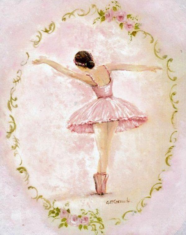Оригинальных, балет на открытках