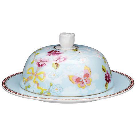 Buy PiP Studio Shabby Butter Dish, Blue Online at johnlewis.com