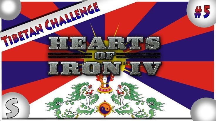 Hearts Of Iron IV --- (HOI4) --- Tibetan Challenge #5 --- Slow Progress.!