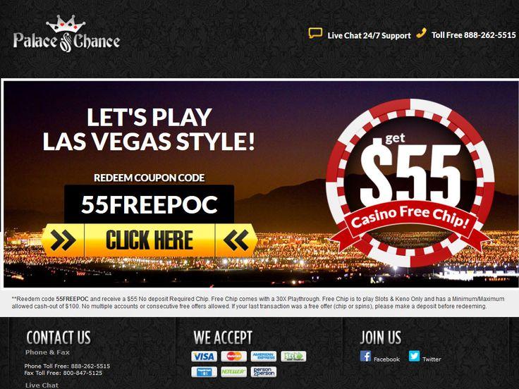 Online Casino Free Bonus Chips
