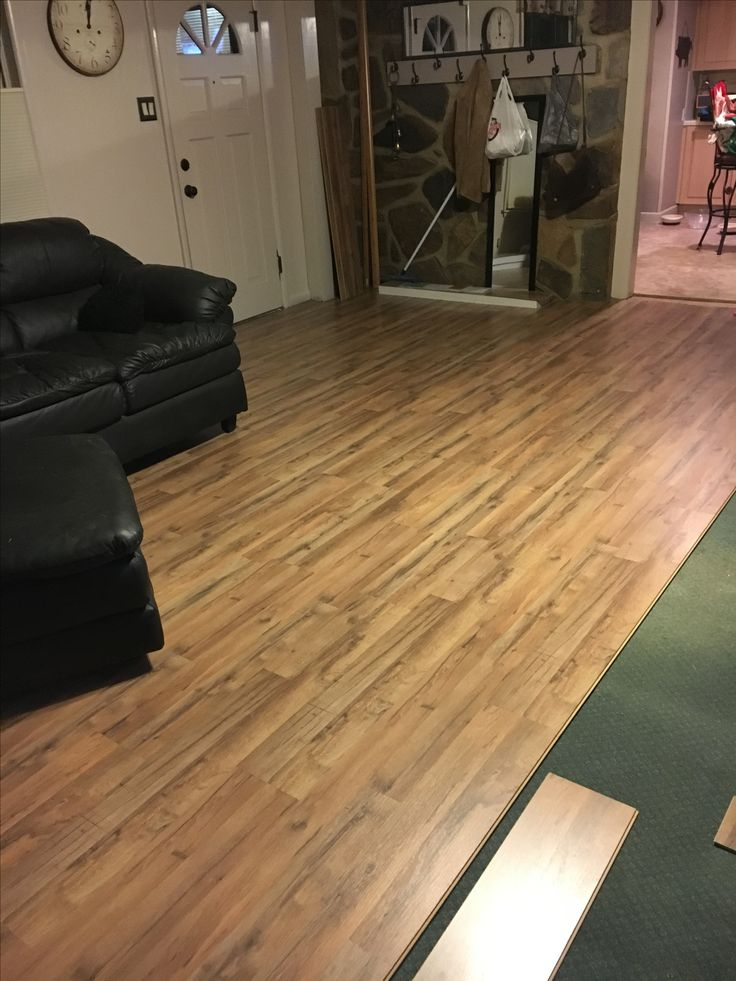 9 Best Laying Laminate Floor Over Carpet Images On Pinterest