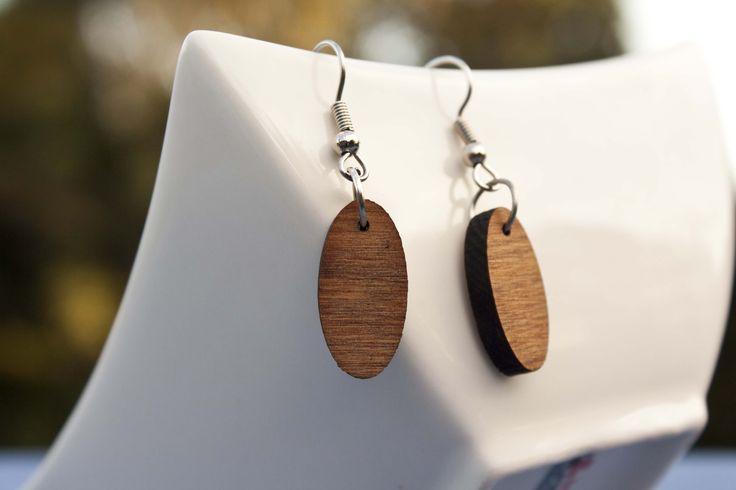 Rimu dangle earrings - $30