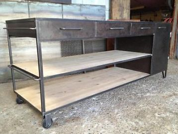 17 beste afbeeldingen over keuken van staal op pinterest dna thuis en zwart - Dressoir originele keuken ...
