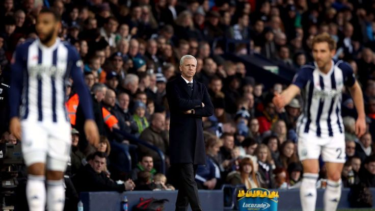 Alan Pardew to hold talks with West Brom board after Leicester defeat