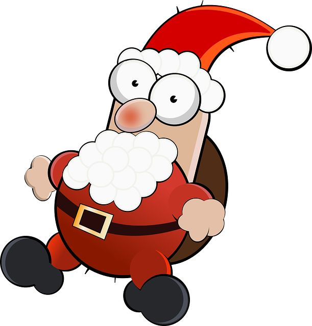 #Santa Claus Differently #Christmas #FreeImage #pixabay