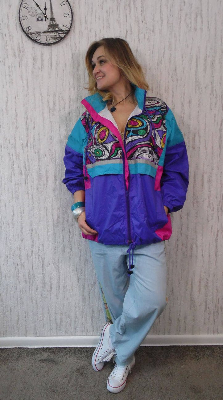 Windbreaker by SweetSpicyVintage on Etsy