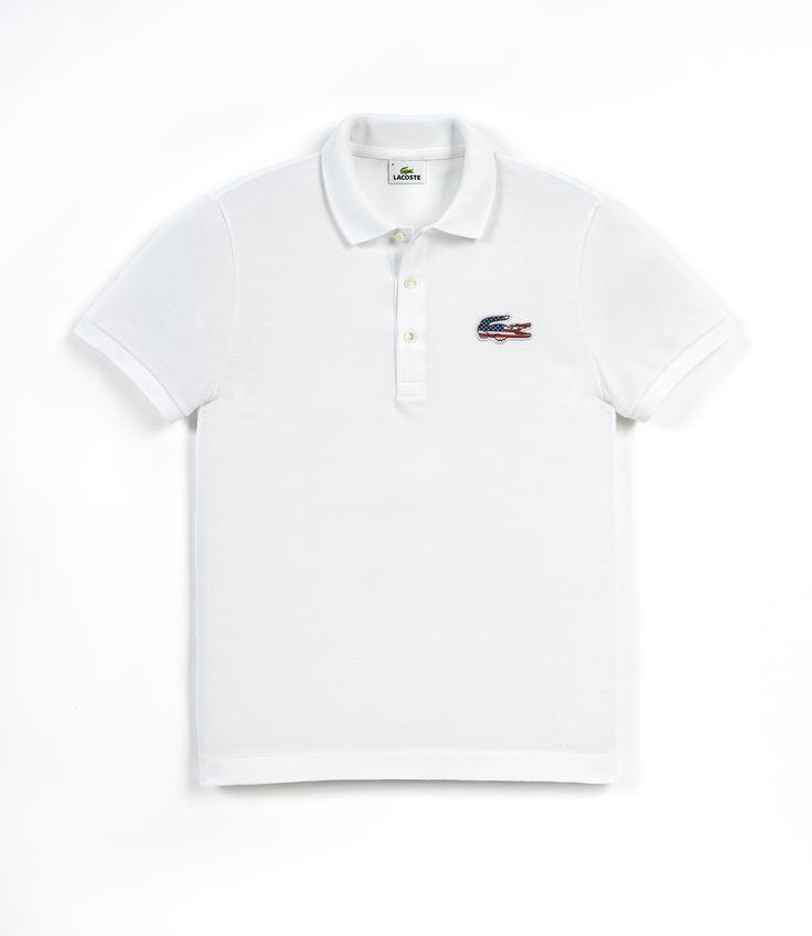 Lacoste Croco Flag Polo Collection - USA