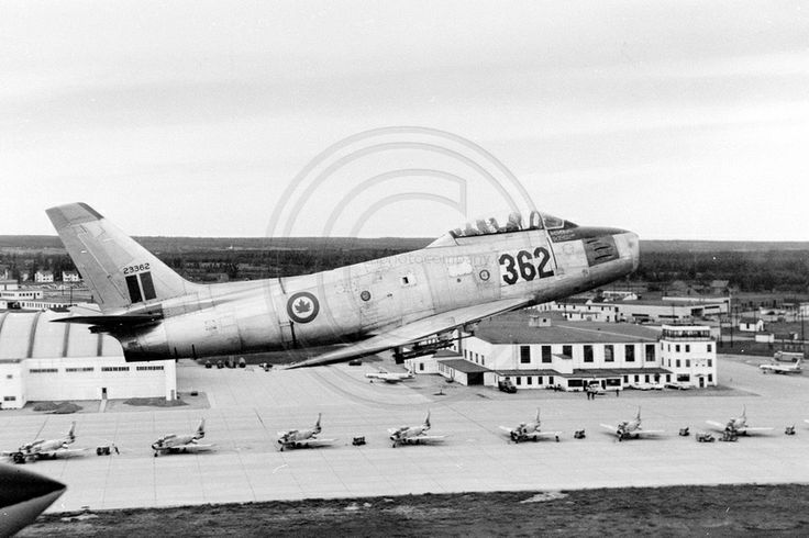 Royal Canadian Air Force North American F-86E 23362 (1957)