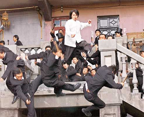 Kung Fu Hustle - possibly the BEST martial arts comedy EVER!