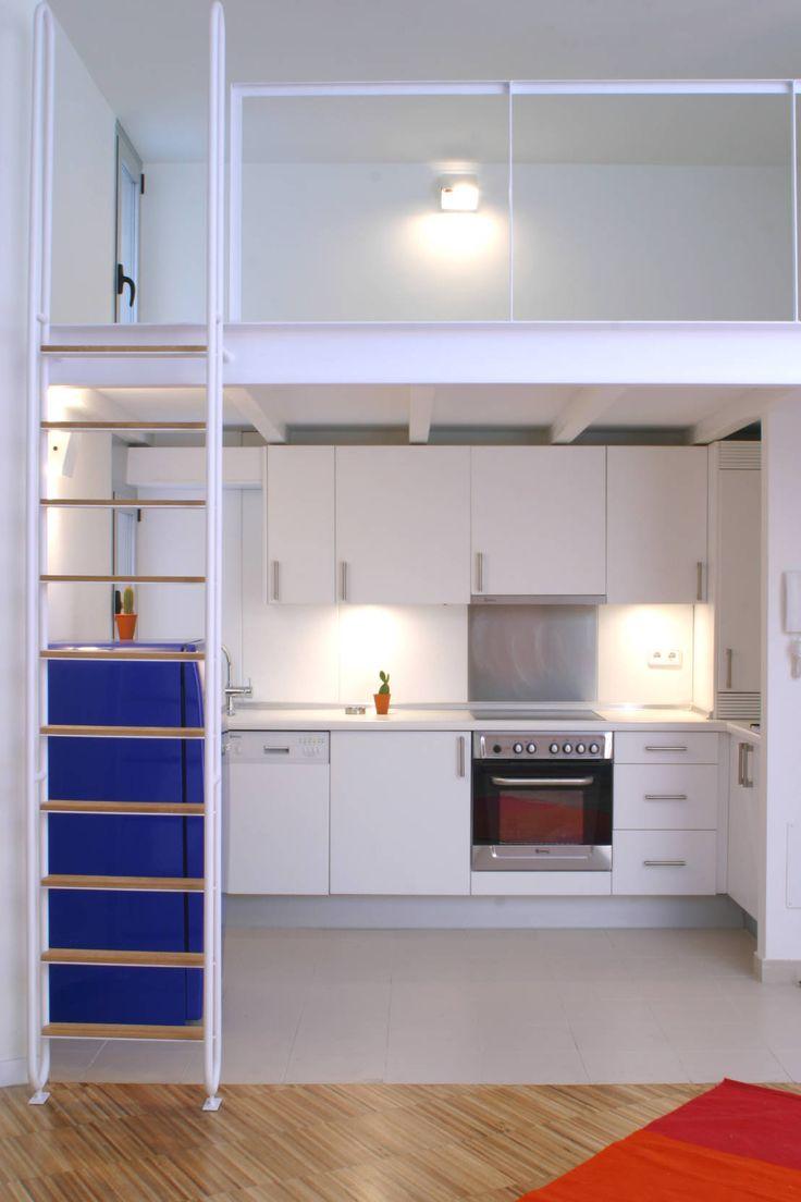Rehabilitación de edificio ATOCHA. Madrid : Cocinas modernas de Beriot, Bernardini arquitectos