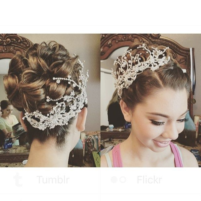 Excellent 1000 Images About Quinceanera Hairstyles On Pinterest Short Hairstyles Gunalazisus