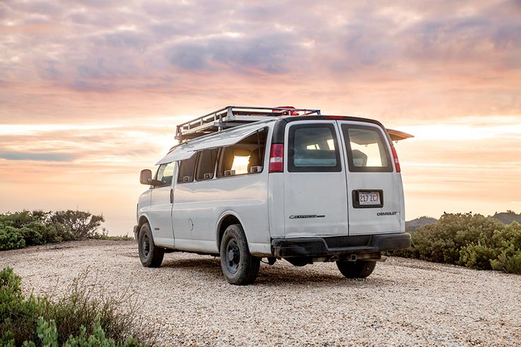Chevy Cargo Van Conversion - Zach Both - Exterior - Humble Homes