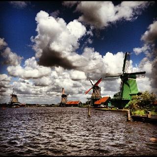 zaanse schans Holland