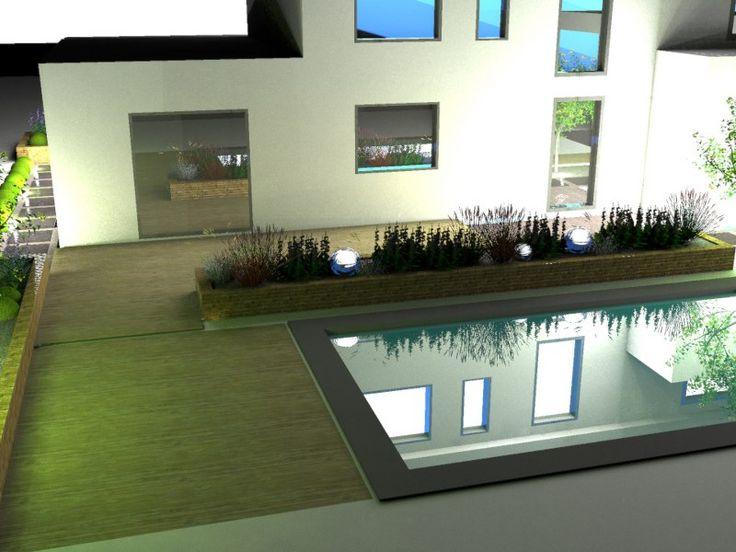 Vizualizácie | Moderné záhrady