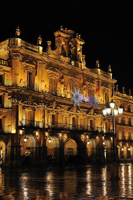 Salamanca, Spain. Want to go back because its great and a lot to do for young adults
