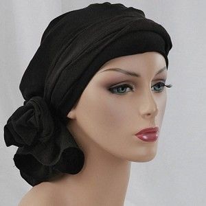 Black head wrap, White Turban, Chemo hats, Turbans for cancer, hats for cancer patients, alopecia, chemo hair loss.