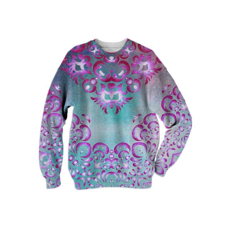 0000000P/Floral Fairy Tale Sweatshirt