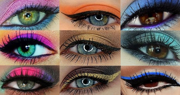 color chart - great info on what shades go with which eye colors for differing results