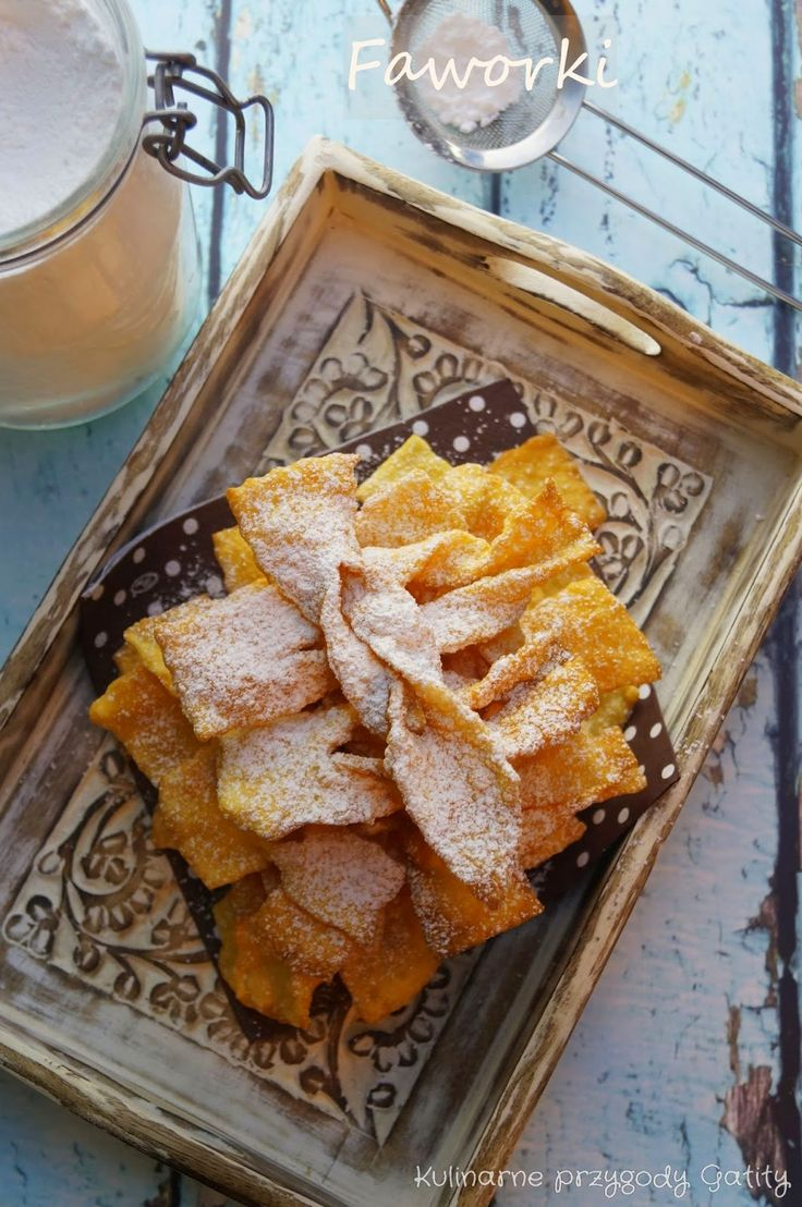 Kulinarne przygody Gatity: Faworki, czyli chrust II