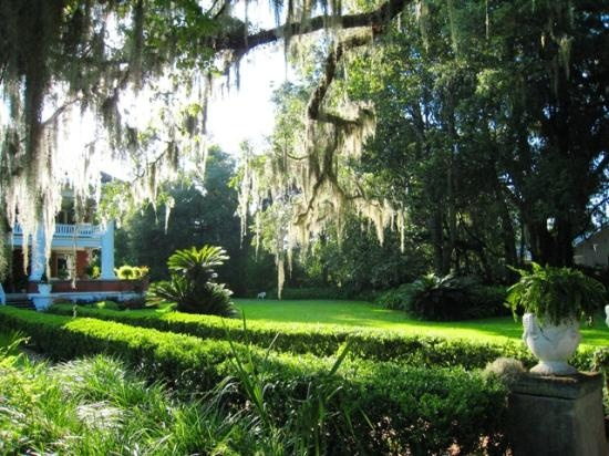 Herlong Mansion Bed And Breakfast Inn Looking From The Street Onto It S Right Corner Micanopy Floridafind Hotelshotels
