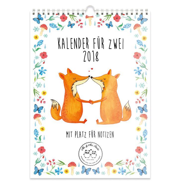 A3 Wandkalender 2018 Paarkalender für zwei aus 170 Gramm Papier seitenmatt   Weiß - Das Original von Mr. & Mrs. Panda.  Dieser wunderschöne Kalender von Mr. &  Mrs. Panda im Format DIN A3 ist mit unseren liebevollen Motiven versehen. Wir begleiten dich Monat für Monat durch das Jahr 2018 und zaubern dir immer wieder ein Lächeln aufs Gesicht. Der Kalender ist mit einem Papprücken verstärkt und vorderseitig mit einer Klarsichtfolie bedeckt. Dadurch wirkt er sehr edel und hochwertig und ist…
