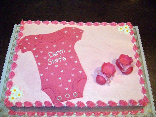 Delightful Baby Shower Cakes