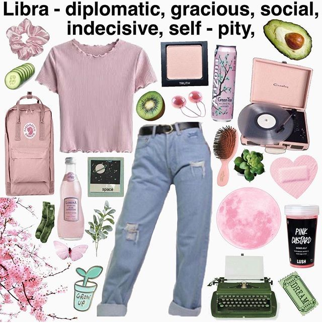 Fuckinavocadooo Zodiac Clothes Mood Board Fashion Aesthetic Clothes