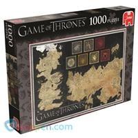 Puzzel Game of Thrones: 1000 stukjes -  Koppen.com