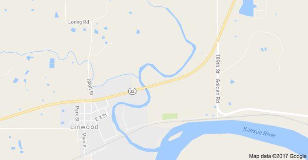 Map of Stranger Creek, Kansas, USA