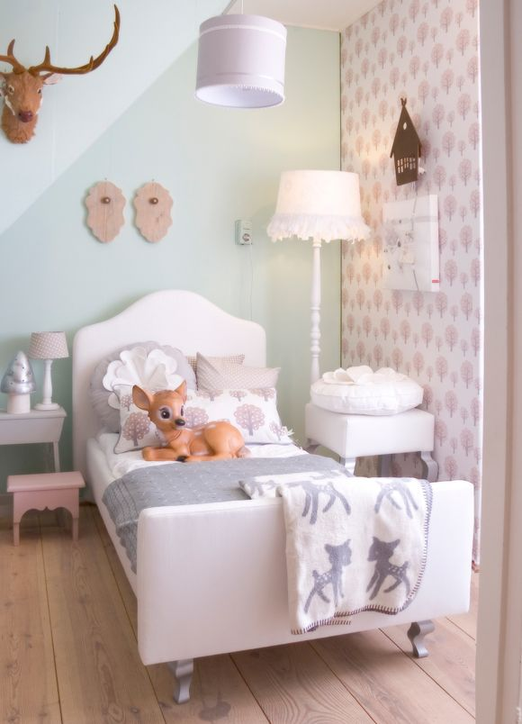 Kidsroom by Saartje Prum x...i love the little touches of taxidermy...for anyone who has visited the left bank...love you Paris France
