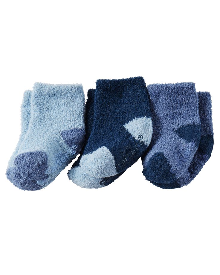 3-Pack Booties from Carters.com. Shop clothing & accessories from a trusted name in kids, toddlers, and baby clothes.