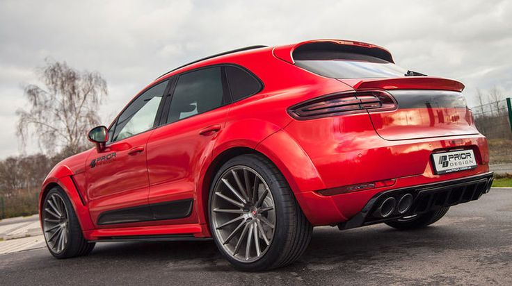 Prior Design Porsche Macan PD600M Widebody PorscheSUV