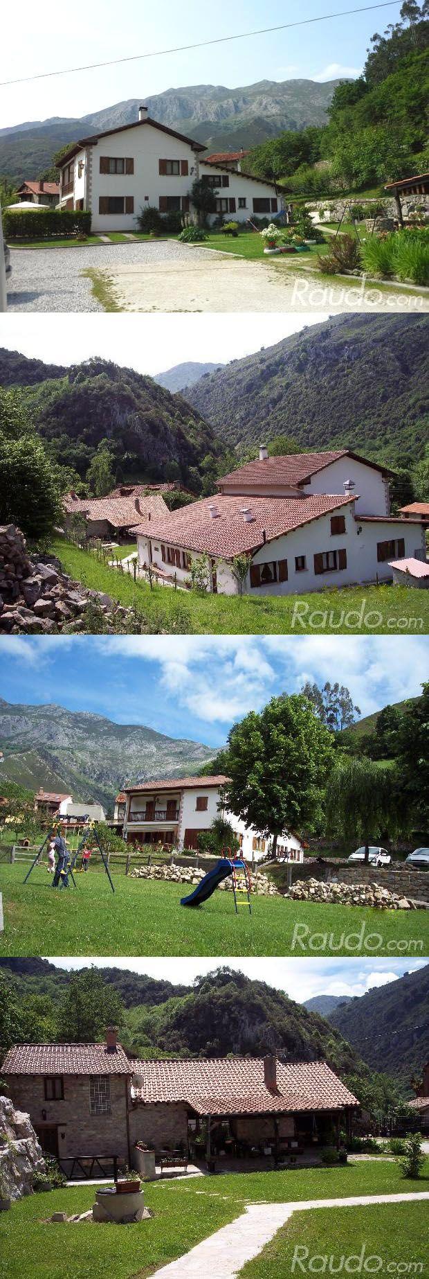 Conjunto de Turismo Rural de 4 casas rurales en Alles - Asturias. Lugar ideal para descansar , hacer turismo de aventura , senderismo , paseos turísticos ... o simplemente descansar y soñar... http://www.raudo.com/f/la-tabla-conjunto-de-turismo-rural/3017