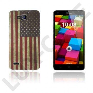 Persson Huawei Ascend G750 Kova Suojakuori – USA:n Lippu