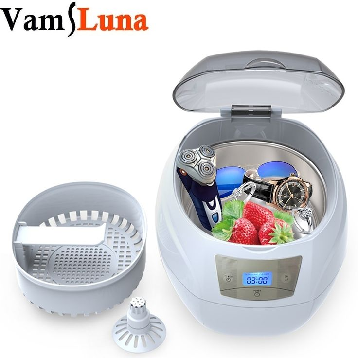 38.00$  Buy now - http://ali699.shopchina.info/go.php?t=32707211582 - Ultrasonic Bath Cleaner 750ML for Cleaning Nail tools, Eyeglasses, Watches, Rings, Necklaces, Coins, Razors, Dentures, Combs 38.00$ #buyininternet