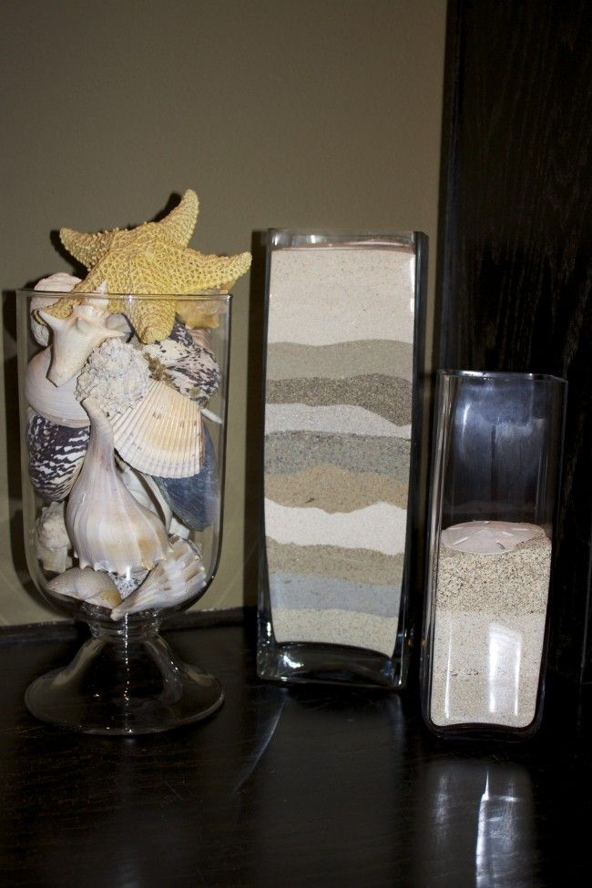 Vacation Sand Vase