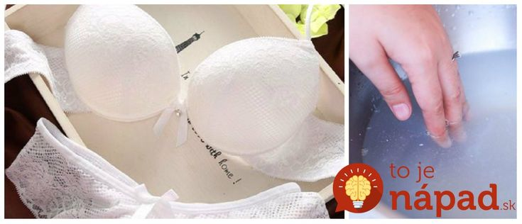 Spodná bielizeň, predovšetkým tá biela, je veľmi háklivá na udržiavanie. Prinášame vám jednoduchý a extra-rýchly tip, ako vrátiť bielej spodnej bielizne, ale aj iným bielym kúskom z vášho šatníka žiarivú farbu.