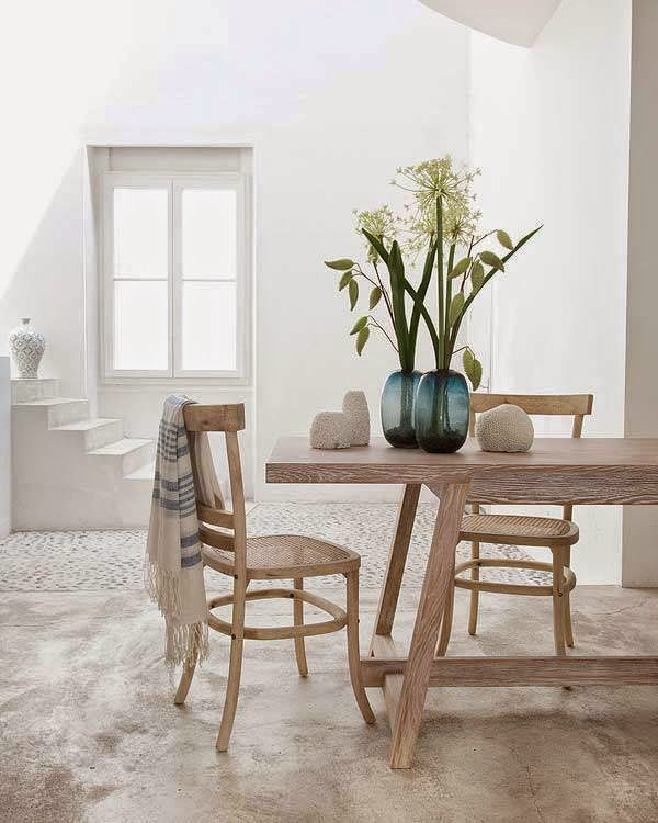 Elementos naturales #hogarhabitissimo #Trends2017 #Rustic natural elements perfect for a beach house // Mediterranean style