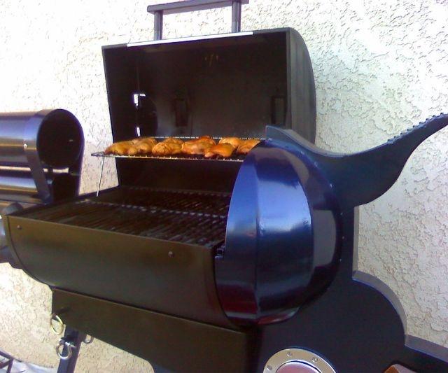 colt 45 bbq grill