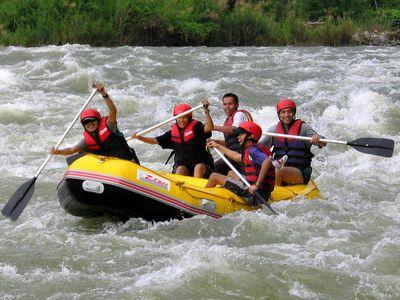 Whitewater rafting in CDO