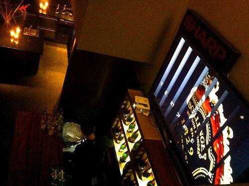 Presentación champagne Bollinger en México DF - Restaurante Casa Biko.  Contendio audiovisual & video mapping bollinger_biko 11